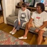 山田邦子とソファーで和む長州力、いわくありげな2ショットに「どういう関係?」の声