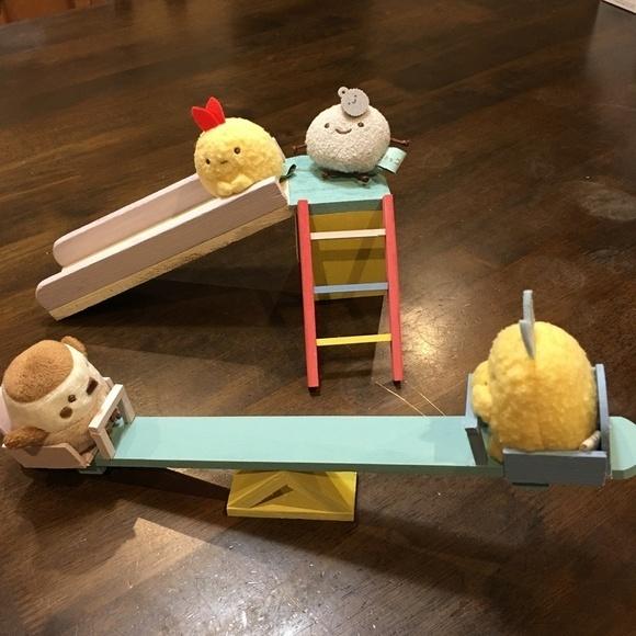 木材工作アイデアおもちゃのドール用遊具