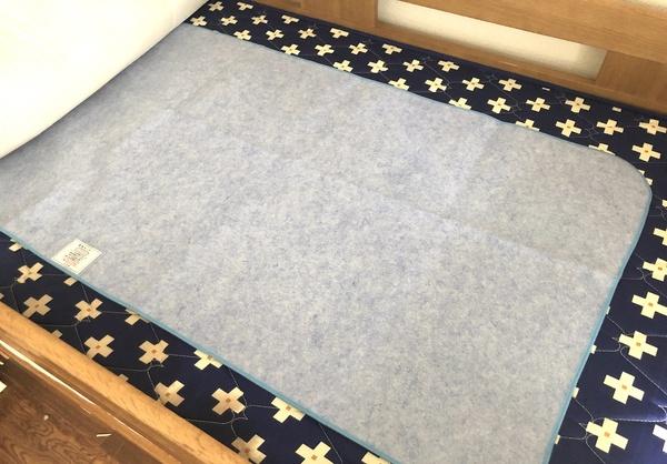 京都西川 「洗える除湿シート