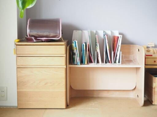 学用品の収納スペース