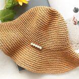 上品、かわいい、便利♡絶対欲しい、折りたためる麦わら帽子