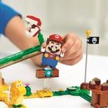 リアルマリオメーカー解・禁。センサー内蔵の「レゴ マリオ」で、自由にコースを走り抜けよう