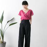 夏のネイビーパンツコーデ【2020】大人女性のおしゃれ上手な着こなし方をご紹介!