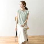 緑Tシャツのコーデ特集【2020】大人女性に似合う着こなしを季節別にご提案♪