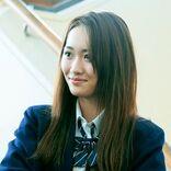 工藤遥 人生初のロングヘアーをなびかせる、道枝駿佑が憧れる高校のマドンナに
