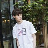 宮沢氷魚 自ら版画でデザイン、チャリティTシャツ発売へ