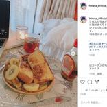 """吉本坂46光永、""""インスタ映え""""な自炊料理もファンから意外な反応?「細い体のどこに…」"""