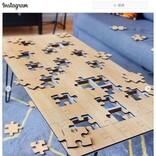 ジグソーパズル兼コーヒーテーブルの「The Jigsaw Puzzle Coffee Table」がKickstarterに登場