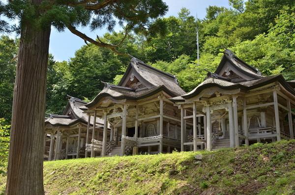 赤神神社 五社堂