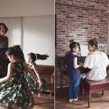 西山茉希、親子で「sesame」表紙 自宅で撮影