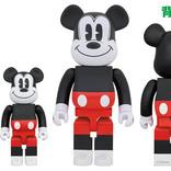 ミッキーマウスのベアブリック、様々なバリエーションで登場!