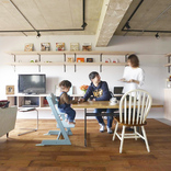 共働き夫婦を支える超実用キッチンをリノベで実現。家事ストレスゼロに