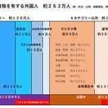 政府、入国制限緩和へ 中韓台など12ヶ国・地域対象