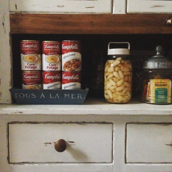 食品のストック収納《棚》5