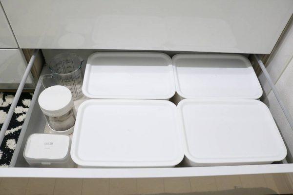 食品のストック収納《引き出し》4