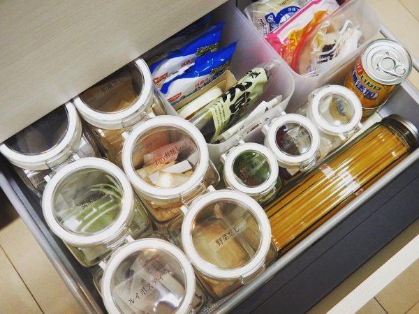 食品のストック収納《引き出し》6