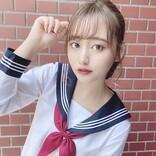 インドネシア×日本のハーフアイドル・池田メルダが制服コスプレ披露
