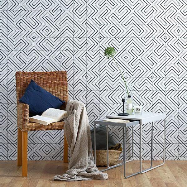 壁紙デザインでお部屋を広く見せることも