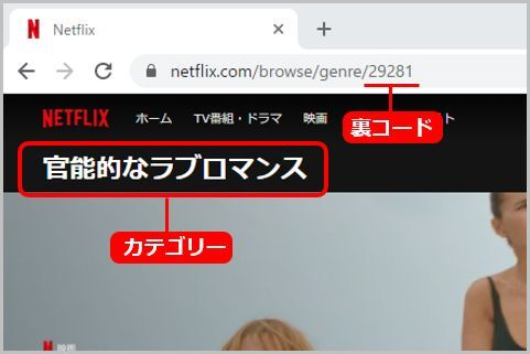 Netflixで「大人向け」作品をマニアックに絞り込む