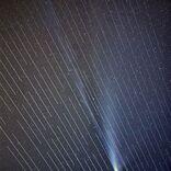 SpaceXのスターリンク衛星、この先6800年見られないネオワイズ彗星の写真を台無しにする