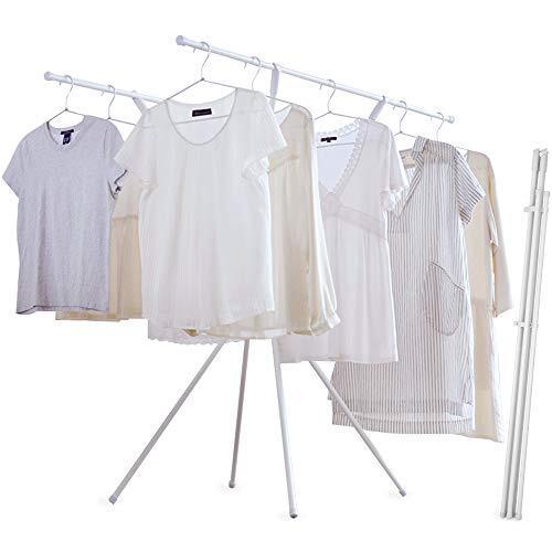 アイリスオーヤマ 洗濯物干し 室内物干し 約2~3人用 簡単スリム収納 ホワイト 幅135㎝ SSM-135X