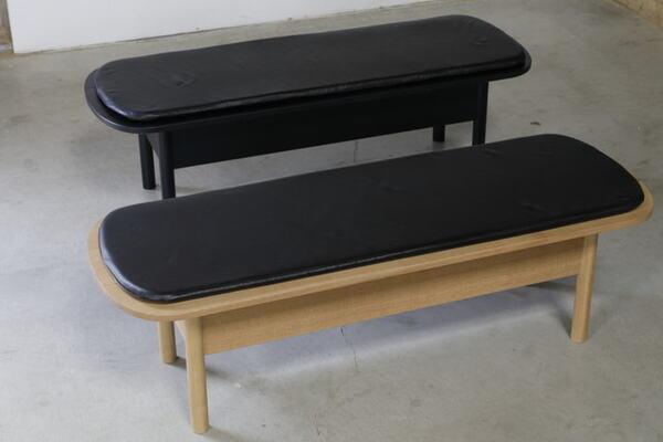 ファミリーユースの大きめのベンチ2種