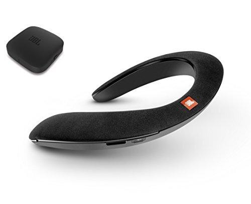 JBL SoundGear BTA ウェアラブルネックスピーカー ワイヤレスオーディオトランスミッター付き Bluetooth/apt-X対応/31mm径スピーカー4基搭載 ブラック/テレビ会議にも使用可能/JBLSOUNDGEARBABLK【国内正規品/メーカー1年保証付き】