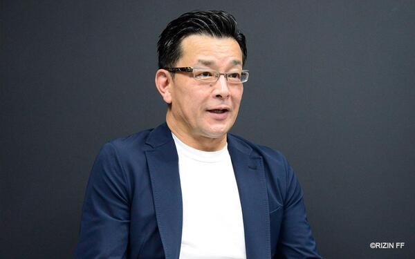 大会来場予定のファンへ向けコロナ対策を呼びかける榊原信行CEO