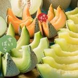 旬の国産メロンが楽しめる!フルーツパラダイスの「メロン食べ放題」