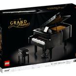 これぞ究極の「大人のレゴ」。自動演奏も楽しめる『グランドピアノ』が8月1日に発売されるよ!