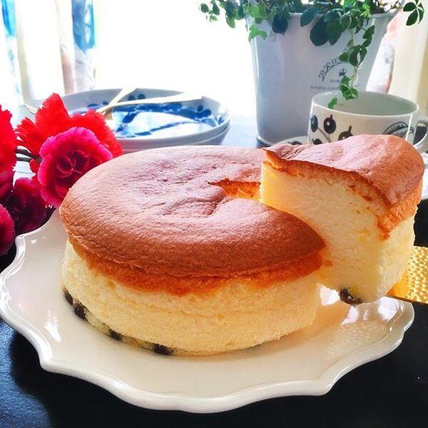 人気のアレンジレシピ!スフレチーズケーキ