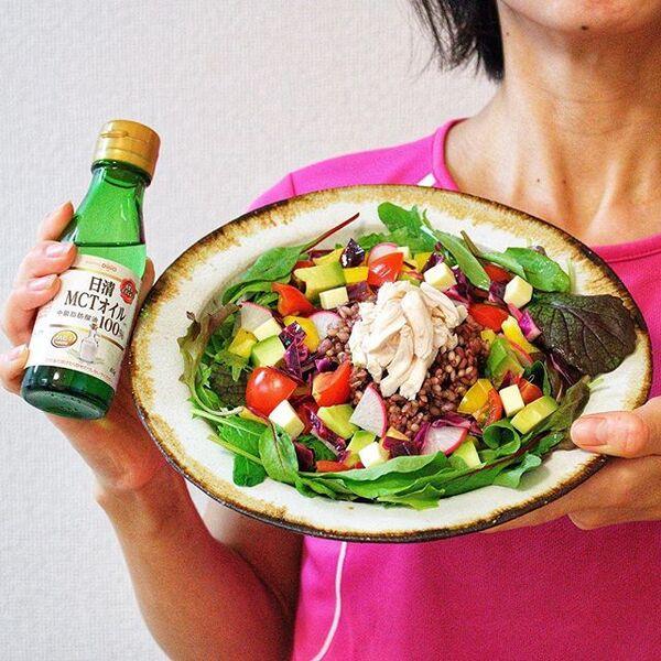 彩り野菜とささみのサラダチキンサラダ