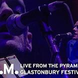 R.E.M.、【グラストンベリー】での伝説的ライブ完全版がYouTubeで72時間限定公開へ