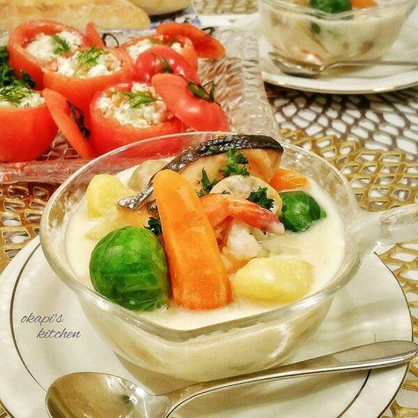 人気のシチューでアレンジレシピ☆おつまみ2