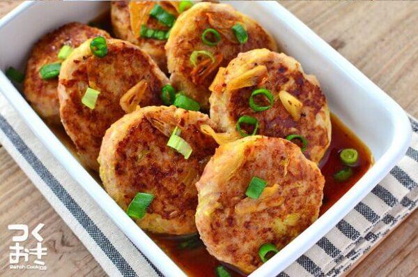 アレンジレシピ!簡単なキャベツハンバーグ