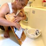 【洗濯機の日】あえて「洗濯板」で洗濯してみた → 心に浮かんできた、たった1つの想い