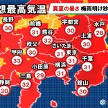 関東甲信 8月スタート厳暑で梅雨明け後押し
