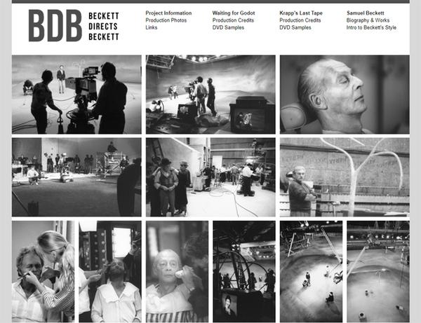 「Beckett Directs Beckett 公式ページ」の引用画像
