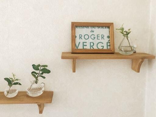 セリア「インテリア木製ウォールラック」でおしゃれに飾る