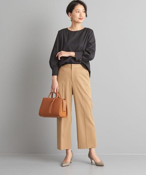 [green label relaxing] 【WORK TRIP OUTFITS】★WTO BC セミワイド パンツ