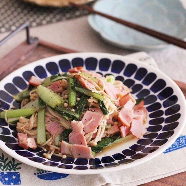 簡単☆えのきの常備菜レシピ【おつまみ】2
