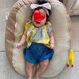 ノンスタ石田、三女が生後5ヶ月を迎えたことを報告