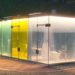 外から丸見えの『理由』に納得! 新しい『公衆トイレ』が話題