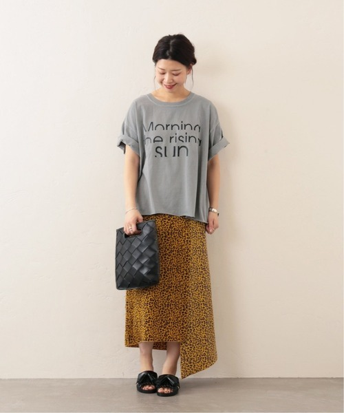 [JOURNAL STANDARD] 【THE DAY ON THE BEACH / ザ・デイ・オンザビーチ】CUT OFF TEE:Tシャツ◆4