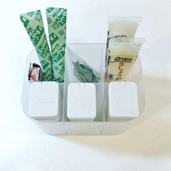 冷蔵庫のドアポケット収納《仕切り》2