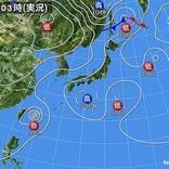 3日も 厳しい暑さと急な雨に注意 台風4号は石垣島付近を通過