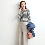 秋のボーダーコーデ【2020】周りと差がつく大人女性のおしゃれな着こなしを紹介!