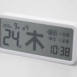 でかすぎるデジタル時計「デジタル日めくりカレンダー」