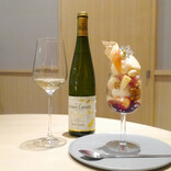 フルーツをワインで味わう!? 「桃のフルコース」が優雅すぎてたまげた