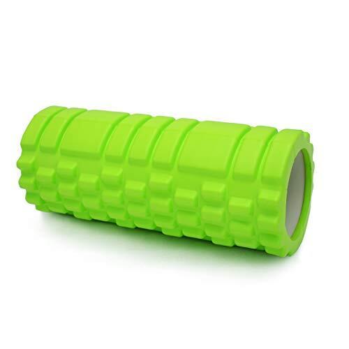 TORIBIO フォームローラー ヨガポール 中空コアローラー ヨガの柱 フィットネス トレーニング器具 ストレス解消 痛・肩コリ・筋肉痛を改善 マッサージ ローラー 緑 多色
